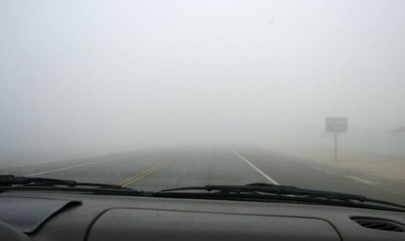 Safety Driving Tips - Driving in the Fog